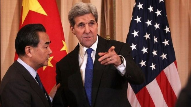 "China and US ""Progress"" on North Korea Sanctions"