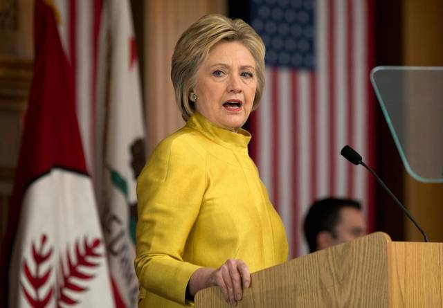 Clinton criticizes Trump's Nato plans