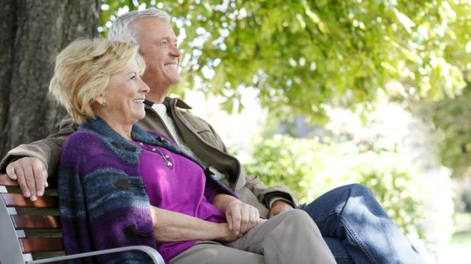 Research finds that Wellbeing rises in late 60's