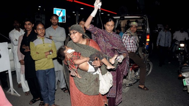 Deadly Easter attack on Lahore Christians, Taliban claims responsibility