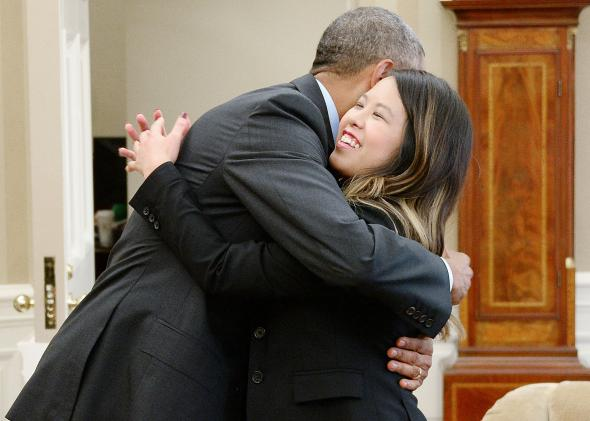Obama starts saying his goodbyes as American president
