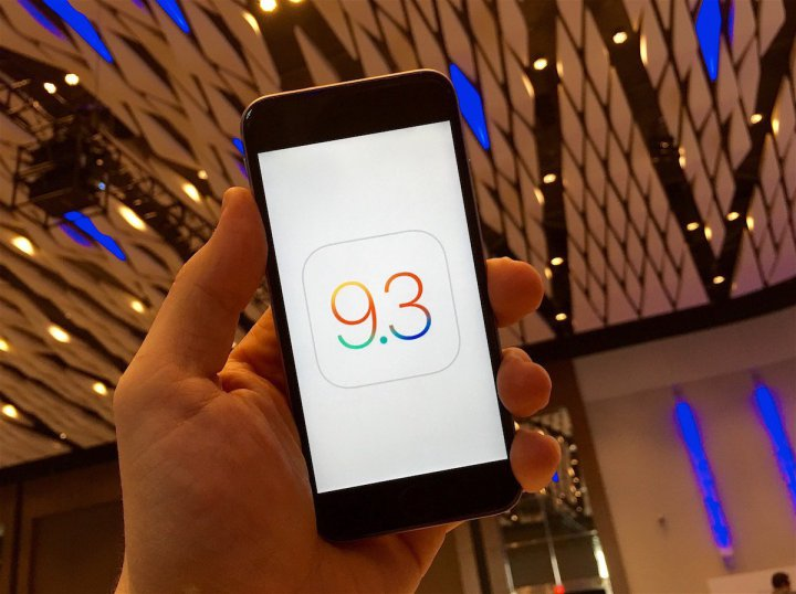 Apple solves the iOS 9.3 update bug