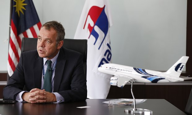 Malaysian Airlines boss resigns