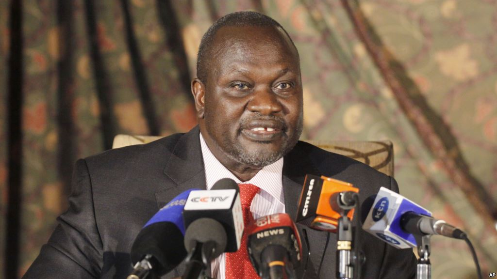 South Sudan Rebel leader Riek Machar goes back to Juba