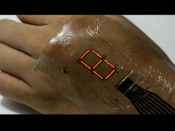E-skin monitors oxygen level