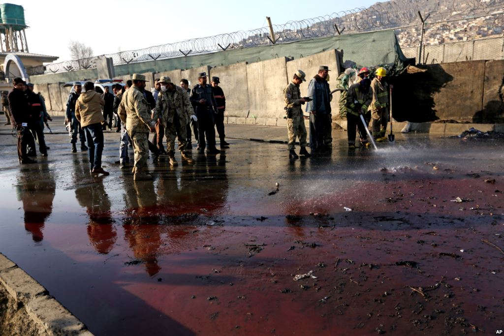 Deadly suicide bomb in Afghanistan's Kabul