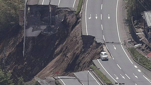 Japan earthquake: Rescue continues after powerful tremor