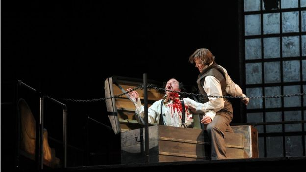 New Zealand students suffer neck cuts in Sweeney Todd show