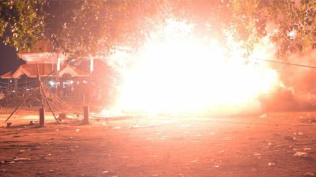 At least 100 killed by Temple fireworks blast in India Kollam