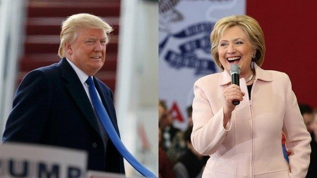 Huge win for Trump, Clinton