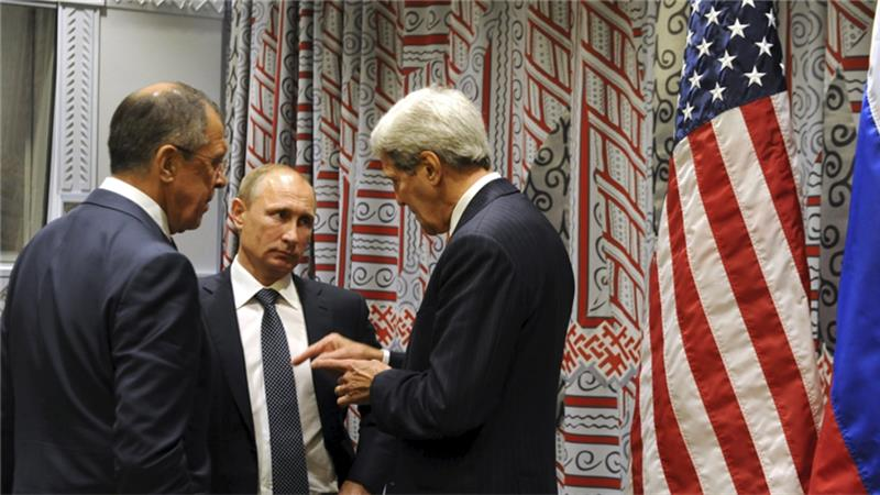 Syria conflict: the US and Russia should save talks