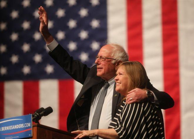 Bernie Sanders wins Wyoming contest