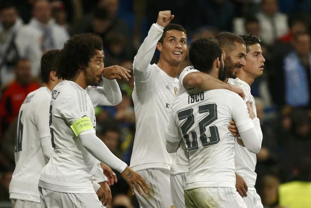 Real Madrid thrash Getafe 5-1