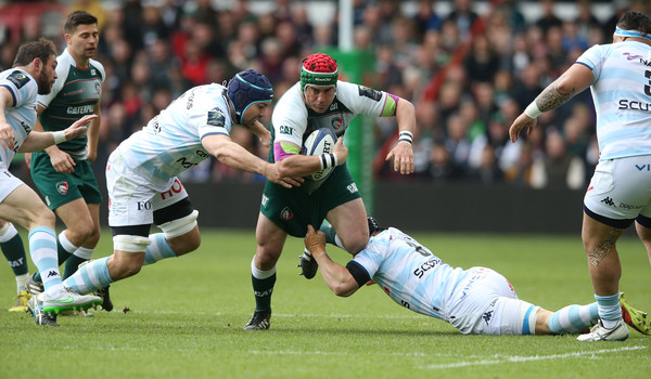 Leicester Tigers v Racing 92 in the Champions Cup