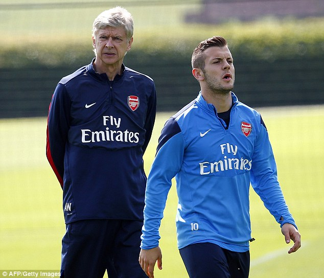 Arsene Wenger has spoken to Jack Wilshere concerning night out