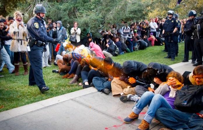 Pepper spray university UC Davis 'hid search results'
