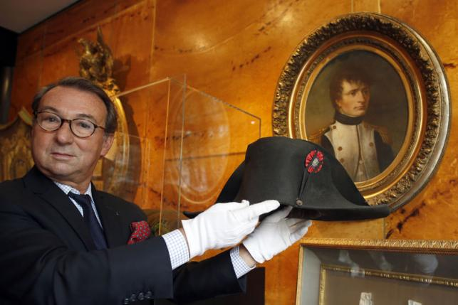 Napoleon Hat Fetches $2.4 Million at Auction