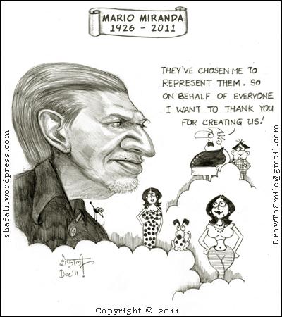 Celebrating Mario Miranda, India's cartoon Guru