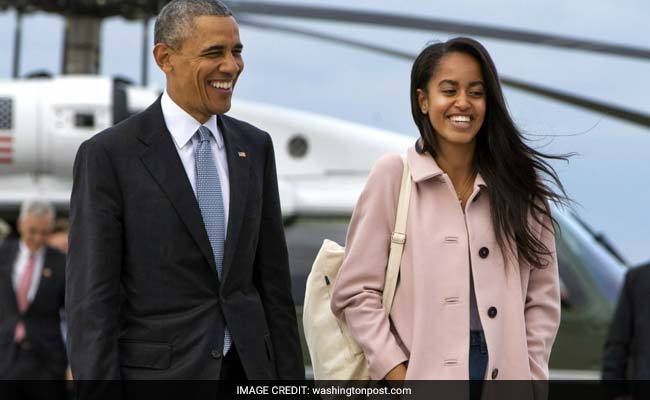 Obama's departure is dreading, Malia moving out