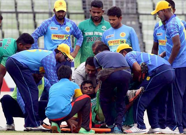 Suhrawadi Shuvo hospitalised after being struck by bouncer