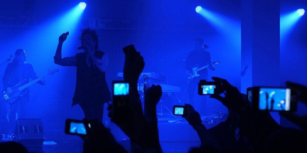 No Apple cameras in concerts?