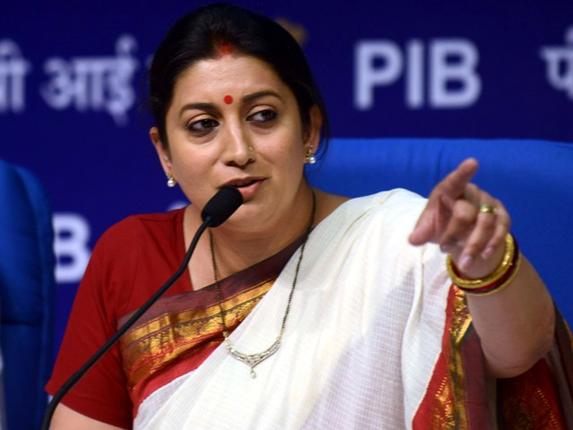 Smriti Irani's sudden demotion surprise politicos