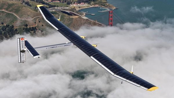 Solar Impulse: Solar-powered plane makes final flight