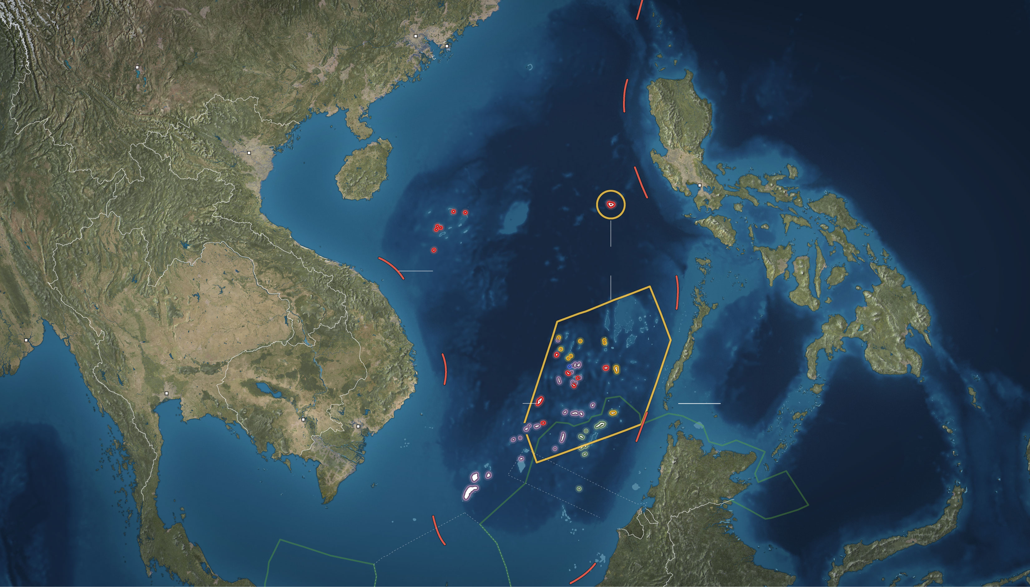 International tribunal rules against China's claim over South China sea