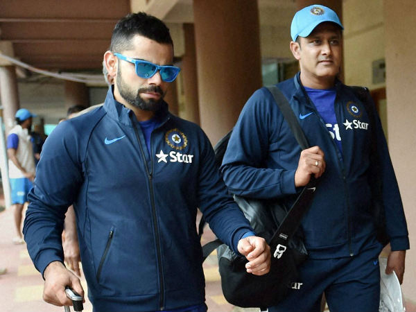 I love Virat Kohli's agression : Team India coach Anil Kumble