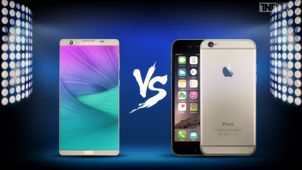 Who is the best, Apple or Samsung? – Galaxy Note7 vs iPhone 7