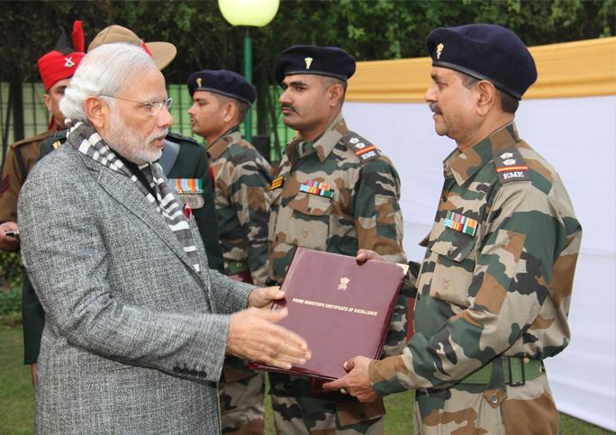 PM Narendra Modi celebrates Diwali with Indian army in Himachal Pradesh