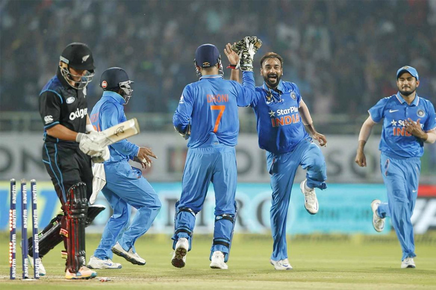 India vs New Zealand ODI series: India wins the series 3-2