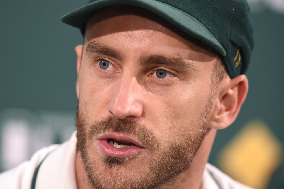 Faf Du Plessis fined 100% of match fee for ball tampering