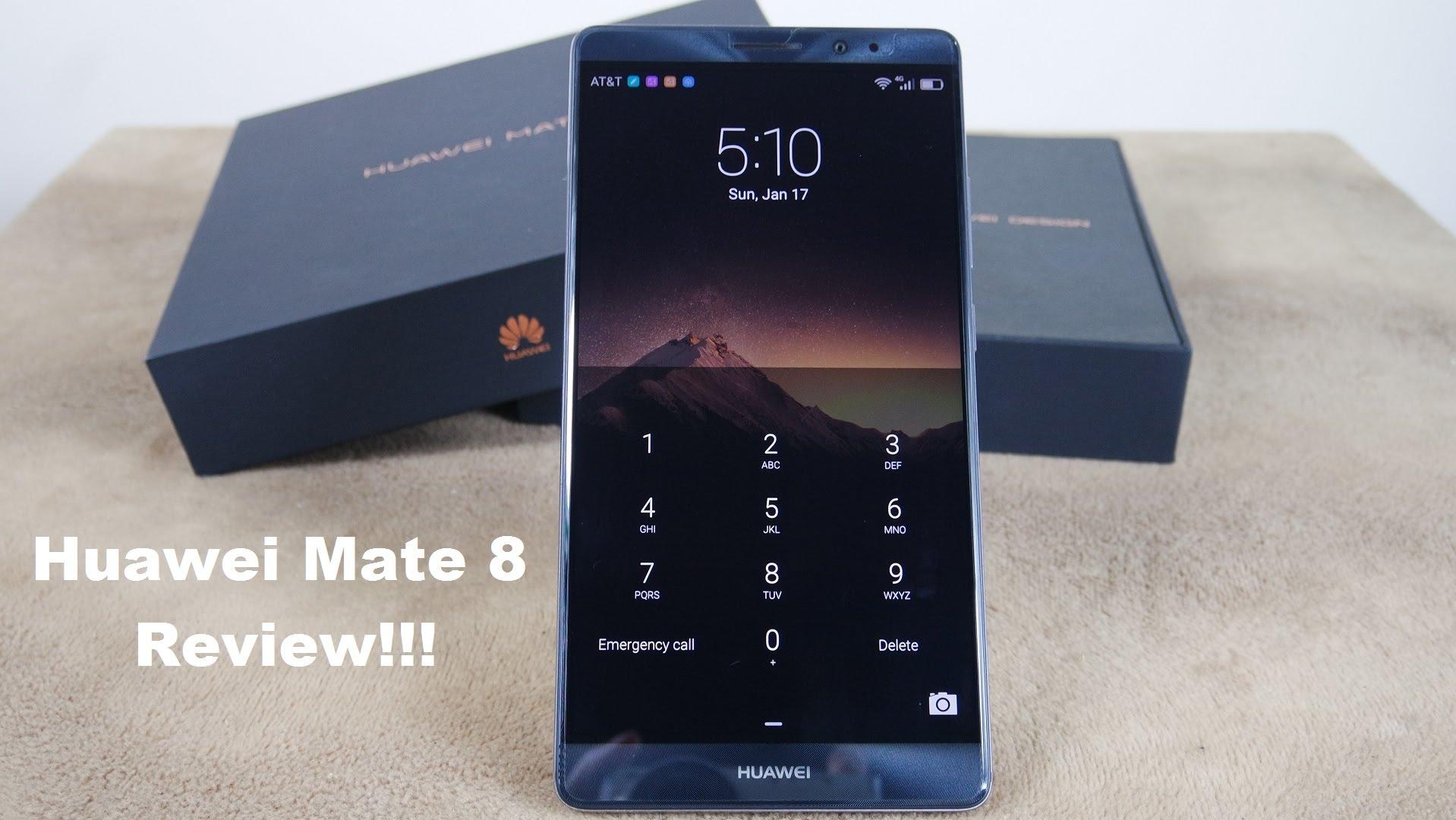 5 Reasons to buy the Huawei Mate 8
