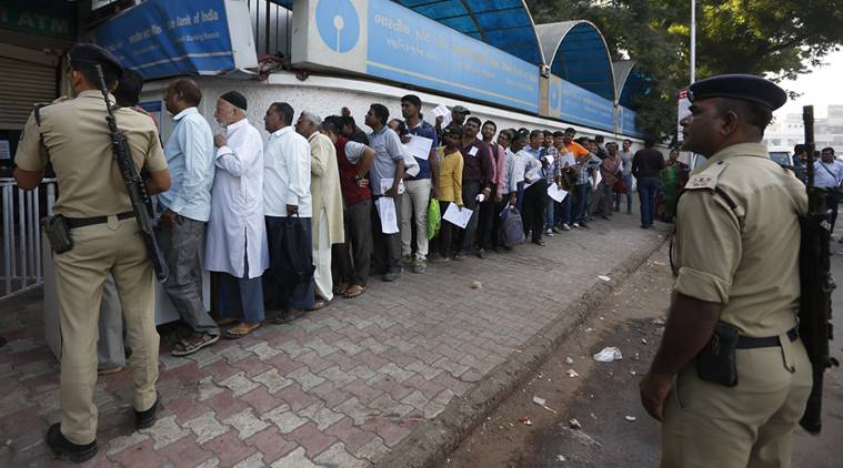 Demonetization: Queues getting shorter at banks; ATMs crowded