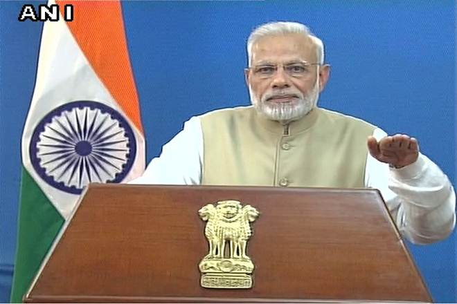 Prime Minister Narendra Modi announces Demonetization of Rs 500 and Rs 1000 currency notes