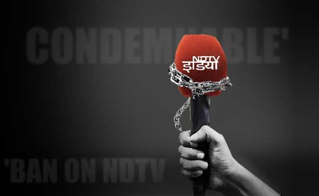 Centre puts NDTV India ban on hold