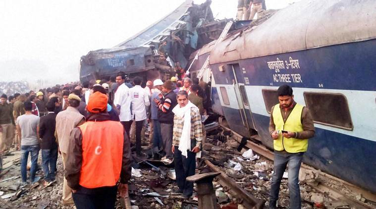 Indore-Patna Express train derails in Kanpur; 96 killed