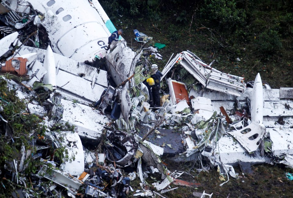 How a crew member survived the Colombian plane crash