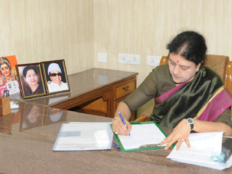 Sasikala Natarajan takes over as AIADMK general secretary