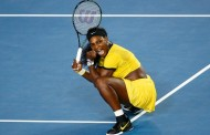Serena Williams beats Nicole Gibbs to reach fourth round of Australia Open 2017