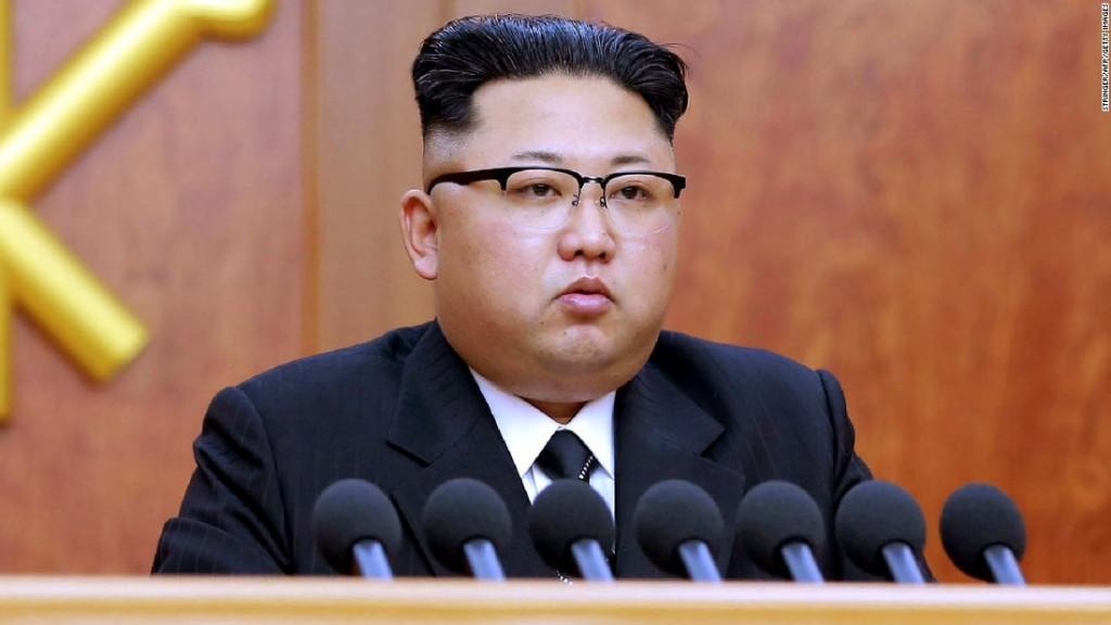 Kim Jong Un and Donald Trump meeting