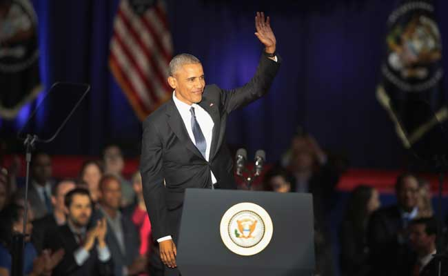 President Barack Obama farewell speech: Fight for democracy