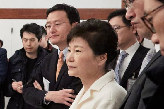 Samsung Boss Questioned