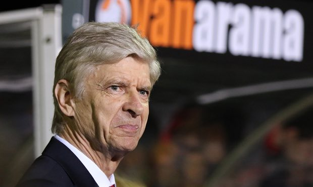 Arsene Wenger Saved from humiliation by his boys