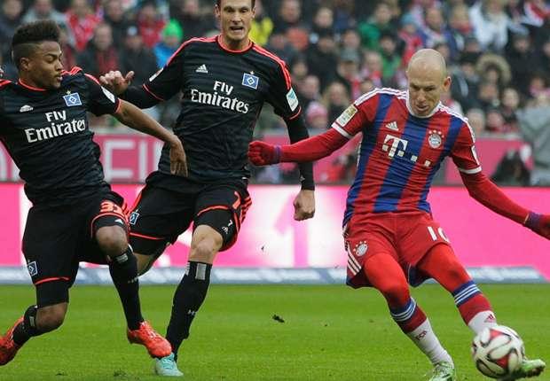 Bayern Munich 8 – 0 Hamburg SV