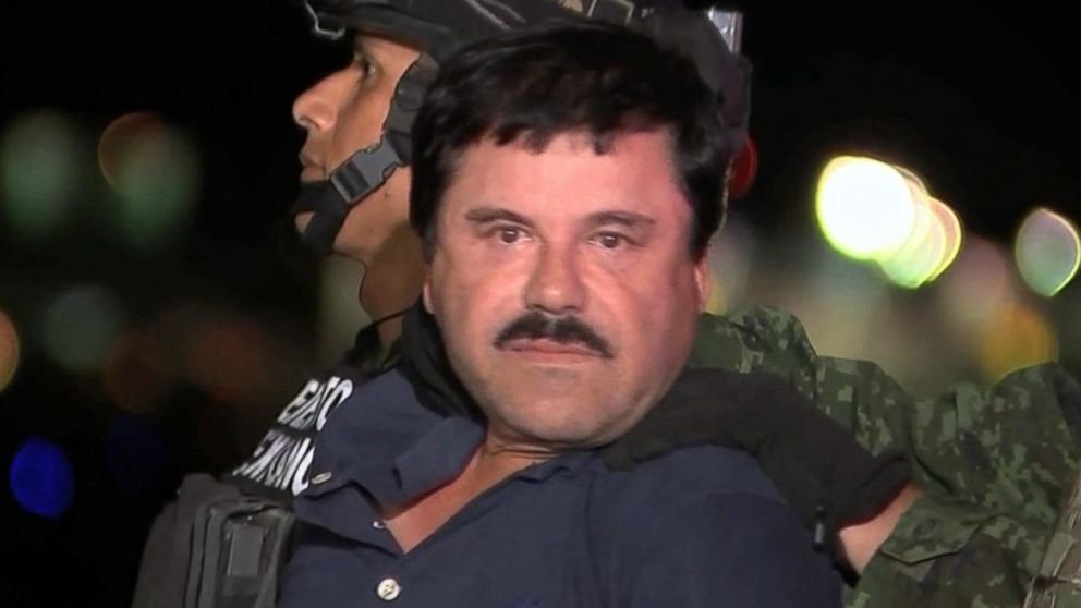 "Drug lord El Chapo Guzman says New York jail conditions ""too strict"""