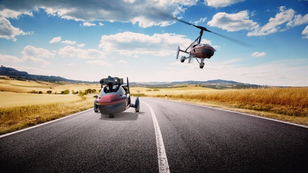 Do you have $400,000? You can now buy the first Flying Cars from PAL-V