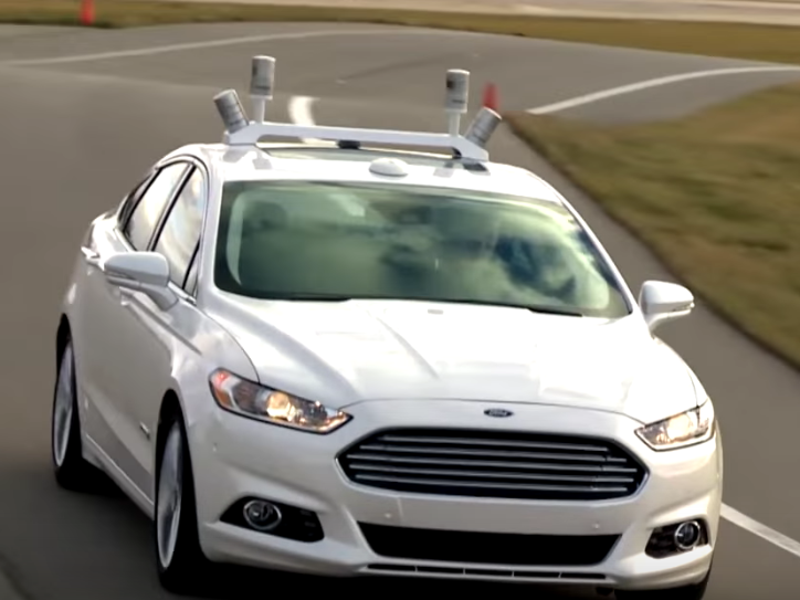 Ford makes $1 billion investment in self- driving cars