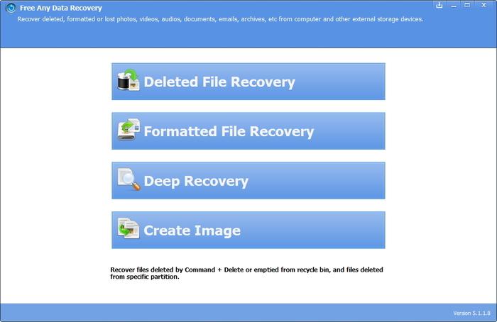 Free Any Data Recovery